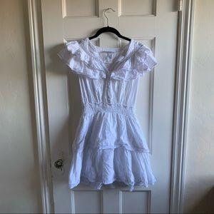 LoveShackFancy for target White Mini Dress